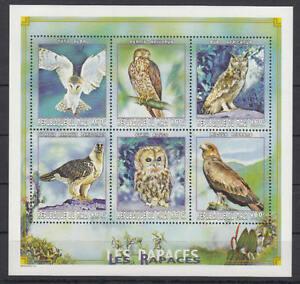 Mali-michel-nº 2398-2403 Cachet/** En Tant Que Petit Arc (oiseaux/birds) Les Couleurs Sont Frappantes