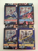 Bandai Gundam Seed Quick Model Gundam Action Figure (set Of 4) Lot Of 4