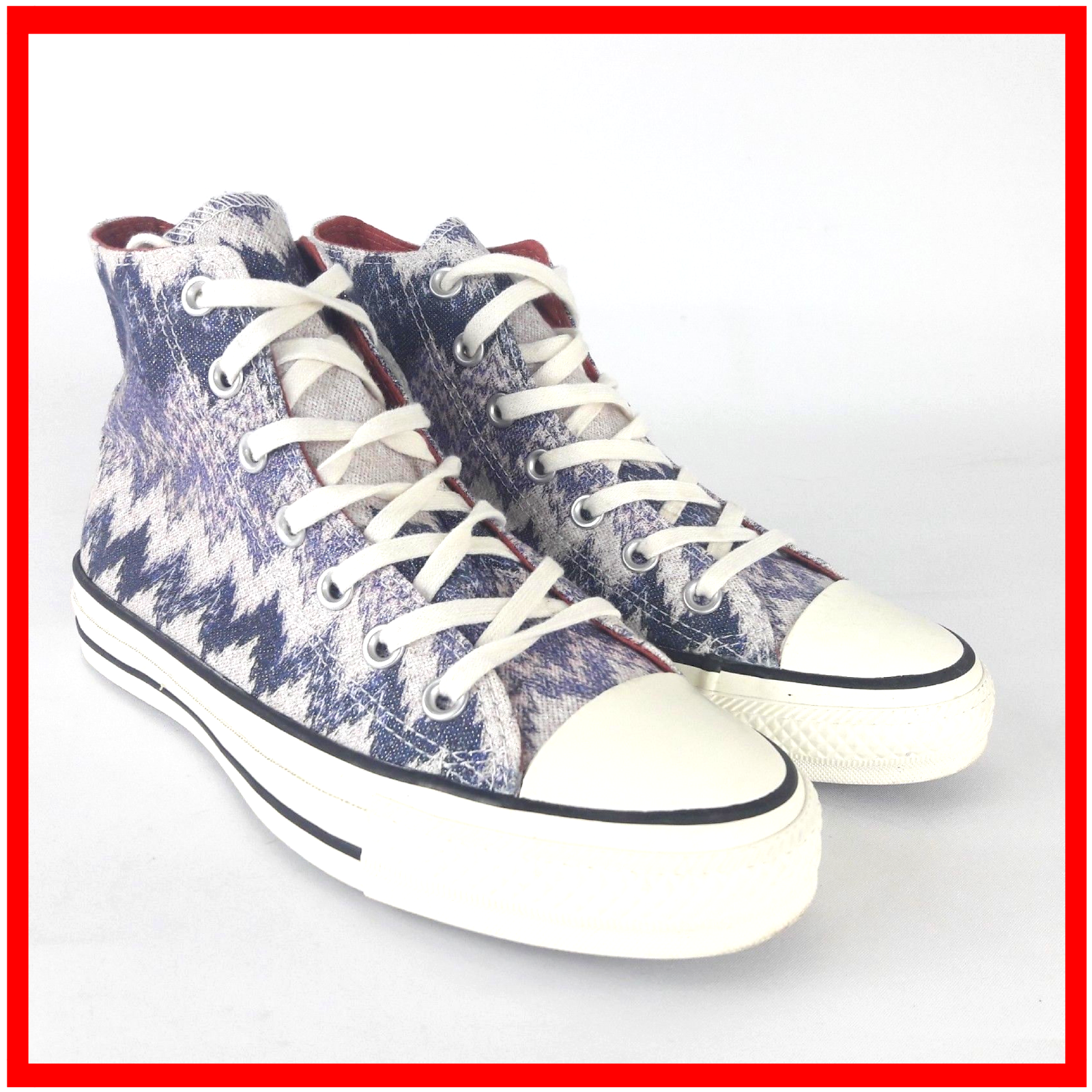 Converse Missoni Egret Multi Size UK 5 / 37.5 Chuck Taylor All Star Ct H Top X