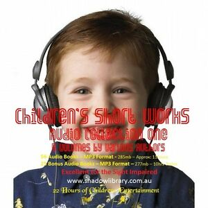 CD - Children's  Audio Collection One - 56 Audio Books + 25 Bonus Audios Blind