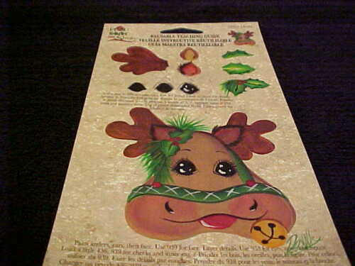 Donna Dewberry One Stroke Reusable Teaching Guide Moose RTG New