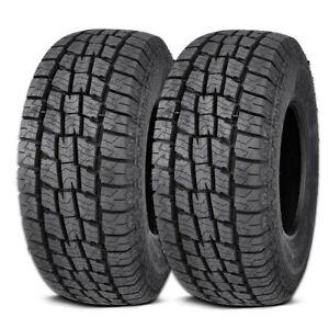 2 Lionhart LIONCLAW ATX2 LT265/75R16 123/120S 10P AS M+S All Terrain Truck Tires