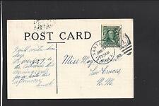 SANTA FE, NEW MEXICO,TERRITORIAL CL 1908, PICTURE POSTCARD, VF.