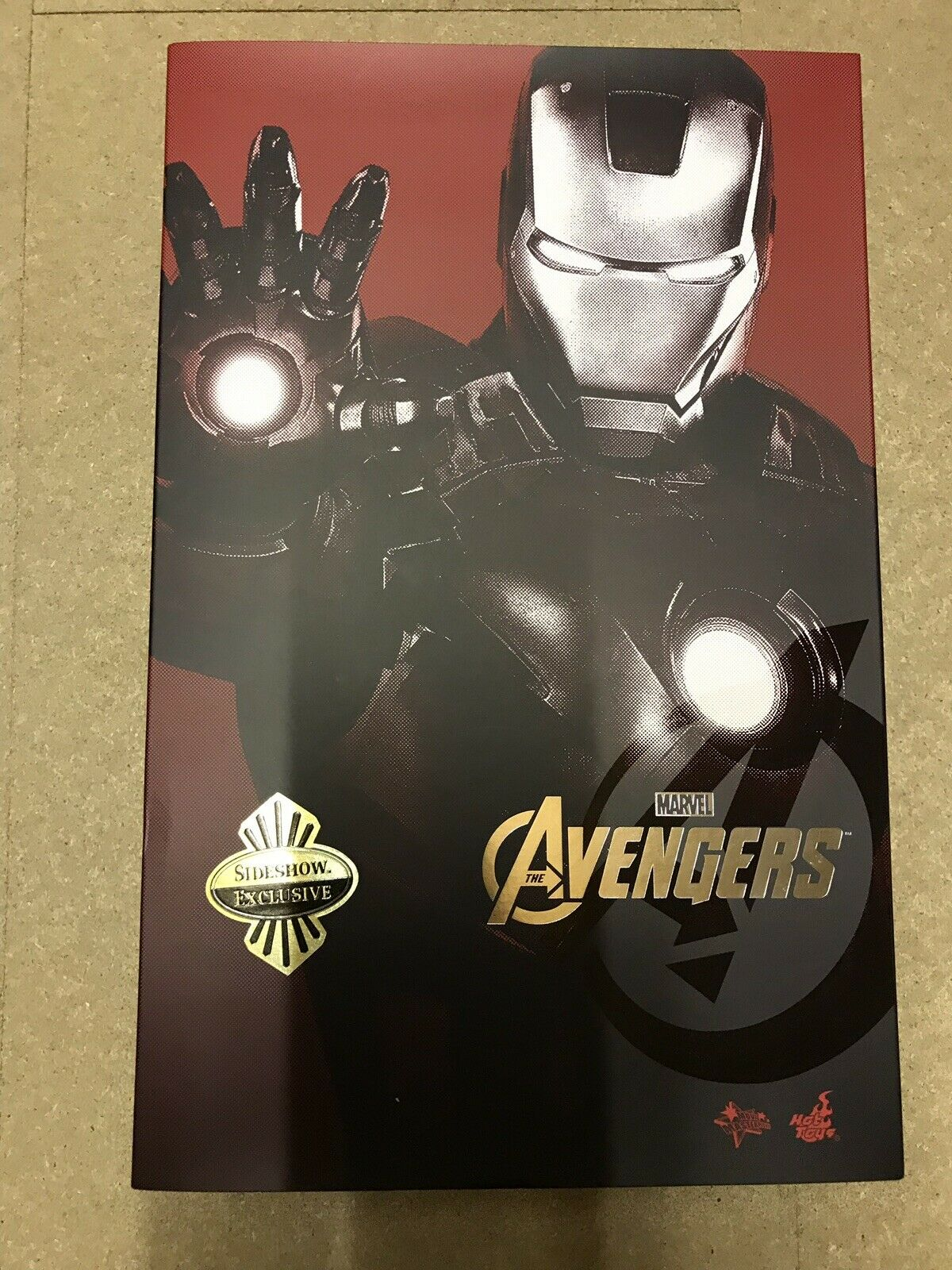 Iron Man MarkVII Avengers Hot Toys Sideshow Exclusive New