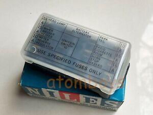 [DIAGRAM_3US]  GENUINE DATSUN NISSAN SUNNY 1200 B110 KB110 120y 140y B210 210 FUSE BOX  NILES | eBay | Nissan B12 Fuse Box |  | eBay
