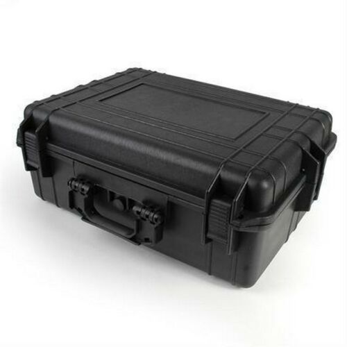 "Multicomp 22-24120 22/"" Black Tactical Weatherproof Equipment Case"