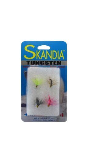 *New Skandia Tungsten Shrimp Fly Assorted 4-Pack SKF124PK-AST