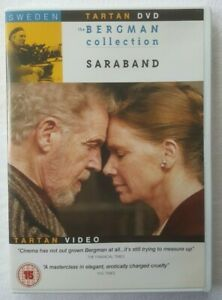 Saraband 2003 by Ingmar Bergman 2006 UK Region 2 DVD Swedish w/ English Subs