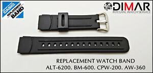 REPLACEMENT-WATCH-BAND-CASIO-ORIGINAL-ALT-6200-BM-600-AW-360-CPW-200-NOS