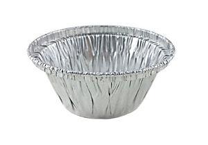 Handi-Foil 3.5 oz. Aluminum Foil Cup - Disposable Ramekin/Cupcak<wbr/>e/Tart Container
