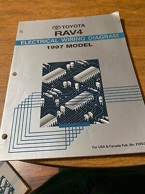 1997 Toyota RAV4 Electrical Wiring Diagram Repair Manual ...
