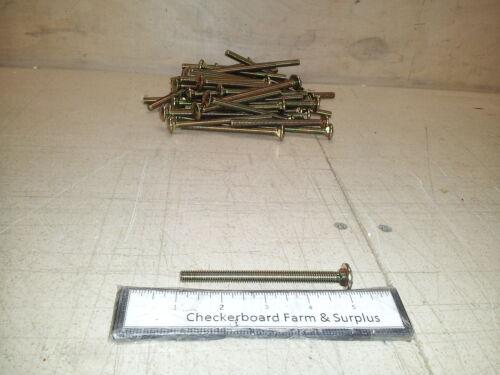 Qty-50 NOS Carriage Bolt 5/16-18 x 4 Zinc ASTM-307 MS35751