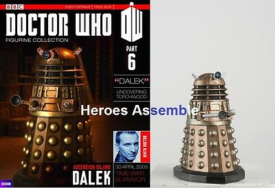 OFFICIAL DOCTOR WHO FIGURINE COLLECTION #6 DALEK EAGLEMOSS MAGAZINE