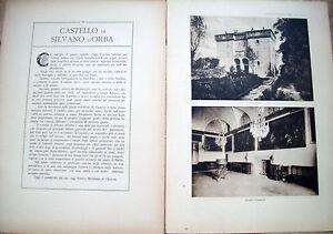 1915-CASTELLO-DI-SILVANO-D-039-ORBA-FASCICOLO-VILLE-E-CASTELLI-DI-VITTORIO-CICALA