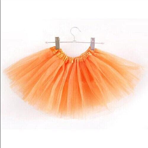 Fashion Tutu Skirt Girls Kids Party Ballet Dance Wear Dress Pettiskirt Costumes