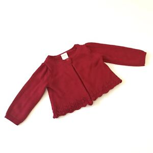 008c1729a Gymboree Knit Cardigan Sweater Baby Girls Size 6-12 Months Long ...