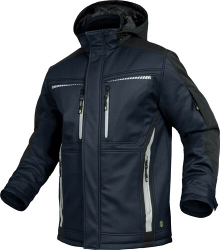 Leib Wächter Winter Softshell Jacke wasserdicht Workwear Beruf schwarz grau etc