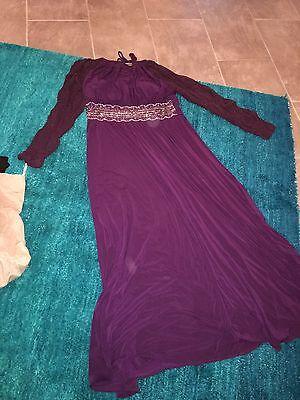 Abendkleid R&m Richards Violet Gr 42-44 Elegant Im Stil
