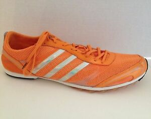 Adidas-Adizero-Shoes-Mens-Size-13-Track-and-Field-Spikes-Cleats-Orange-Tennessee