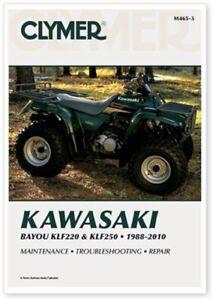 KLF250 ATV Workshop Repair Service Manual M4653 1988-2011 Kawasaki Bayou KLF220
