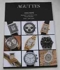 CATALOGUE VENTE DROUOT 2014 AGUTTES HORLOGERIE montres Patek Longines Rolex ...