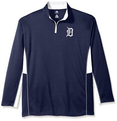 Sport Weitere Ballsportarten FäHig Neu Lizenziert Mlb Detroit Tigers Herren 1/4 Zip Wind Jacke Größe 2xlt ___ S74 Hindernis Entfernen