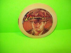 Williams-INDIANA-JONES-Original-NOS-Pinball-Machine-Promo-Plastic-Face-amp-Logo