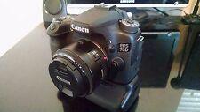 Canon EOS 70D 20.2MP DSLR Camera w/ 50mm Prime & Tamron 70-300 TeleMacro Lens