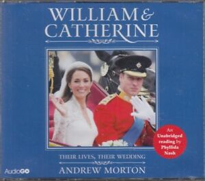 William-amp-Catherine-Their-Lives-amp-Wedding-Andrew-Morton-3CD-Audio-Book-NEW