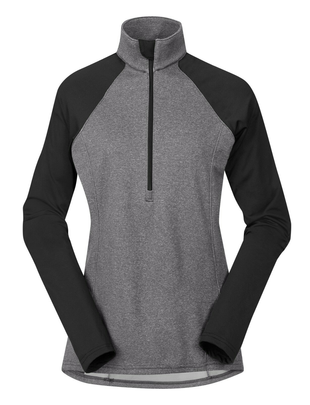 NWT Kerrits Daily Ride Half Zip - Charcoal Grey - Ladies Medium