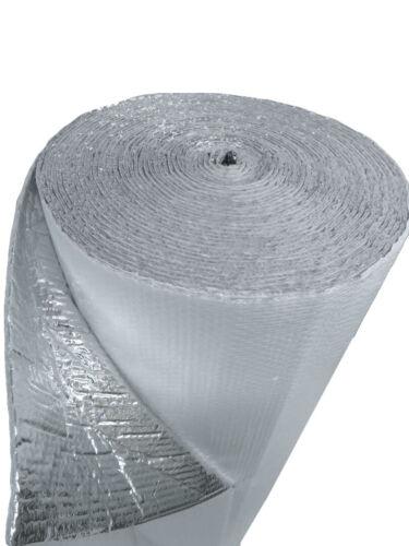 "USEP 48/"" x 1/' 4sqft Double Bubble White Reflective Foil Insulation R8"