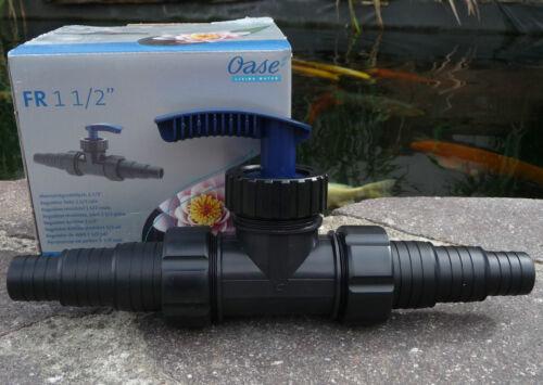 """Oase Durchflussregler 1 ½/"""" zur stufenlosen Anpassung der Wasserdurchflussmenge"""