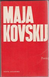Majakovskij, Poesie, Nuova accademia, 1960, poesia russa, Ambrogio, I cristalli