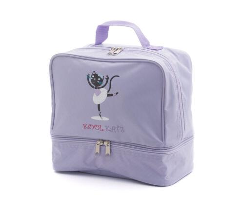 Girls Lilac Nylon Small Ballet Dance Shoe Bag By Katz Dancewear KB98 Present