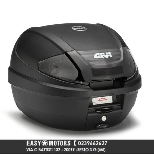 GIVI BAULETTO TOP CASE E300 NT TECH NERO 30 LT MONOLOCK