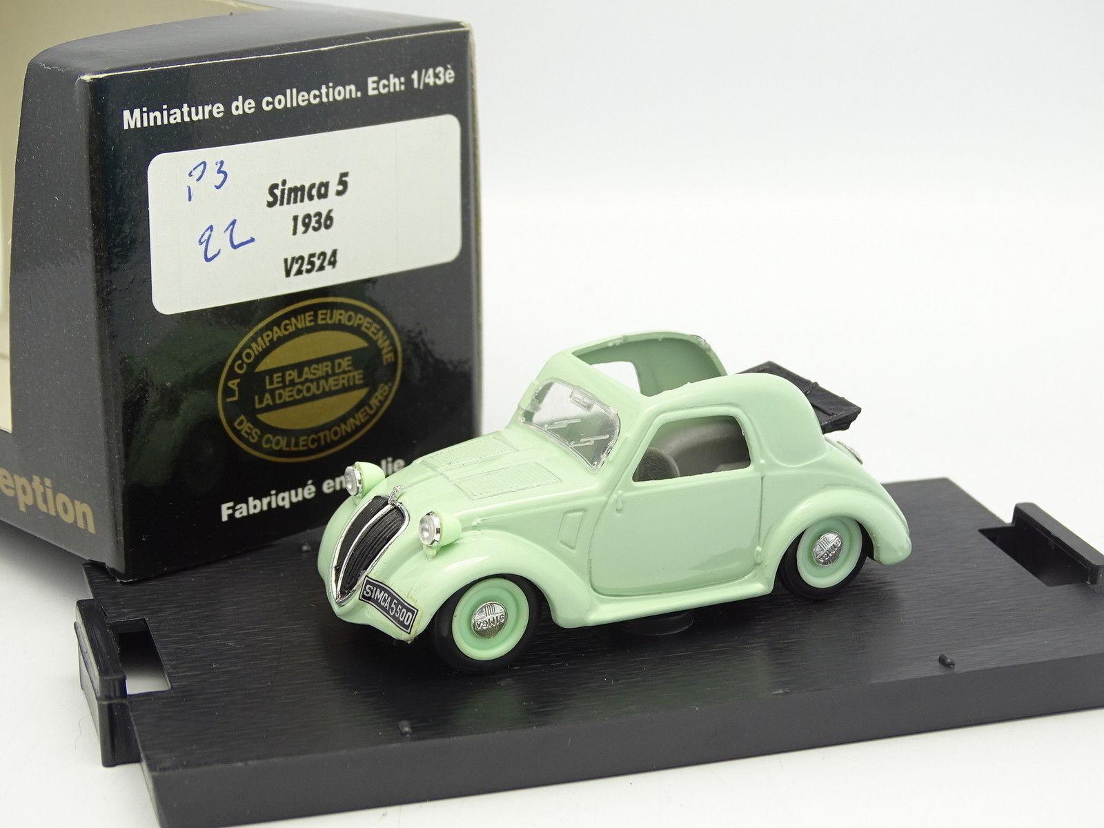 Brumm CEC 1 43 - Simca 5 5 5 1936 green 142880