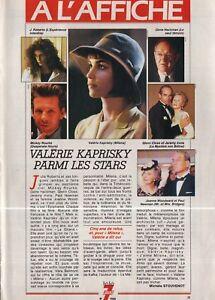 Coupure-de-presse-Clipping-1991-Valerie-Kaprisky-1-page