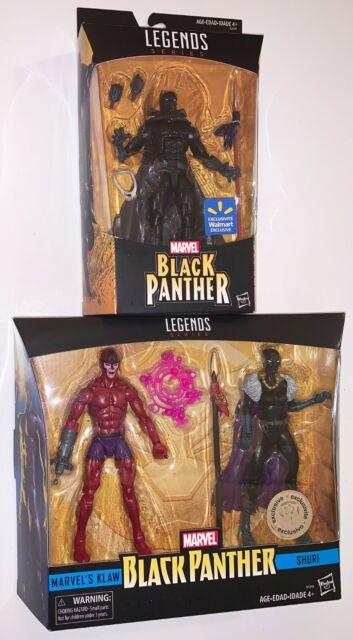 Marvel Legends Walmart Exclusive BLACK PANTHER, KLAW & SHURI 2 pk TRU Exclusive