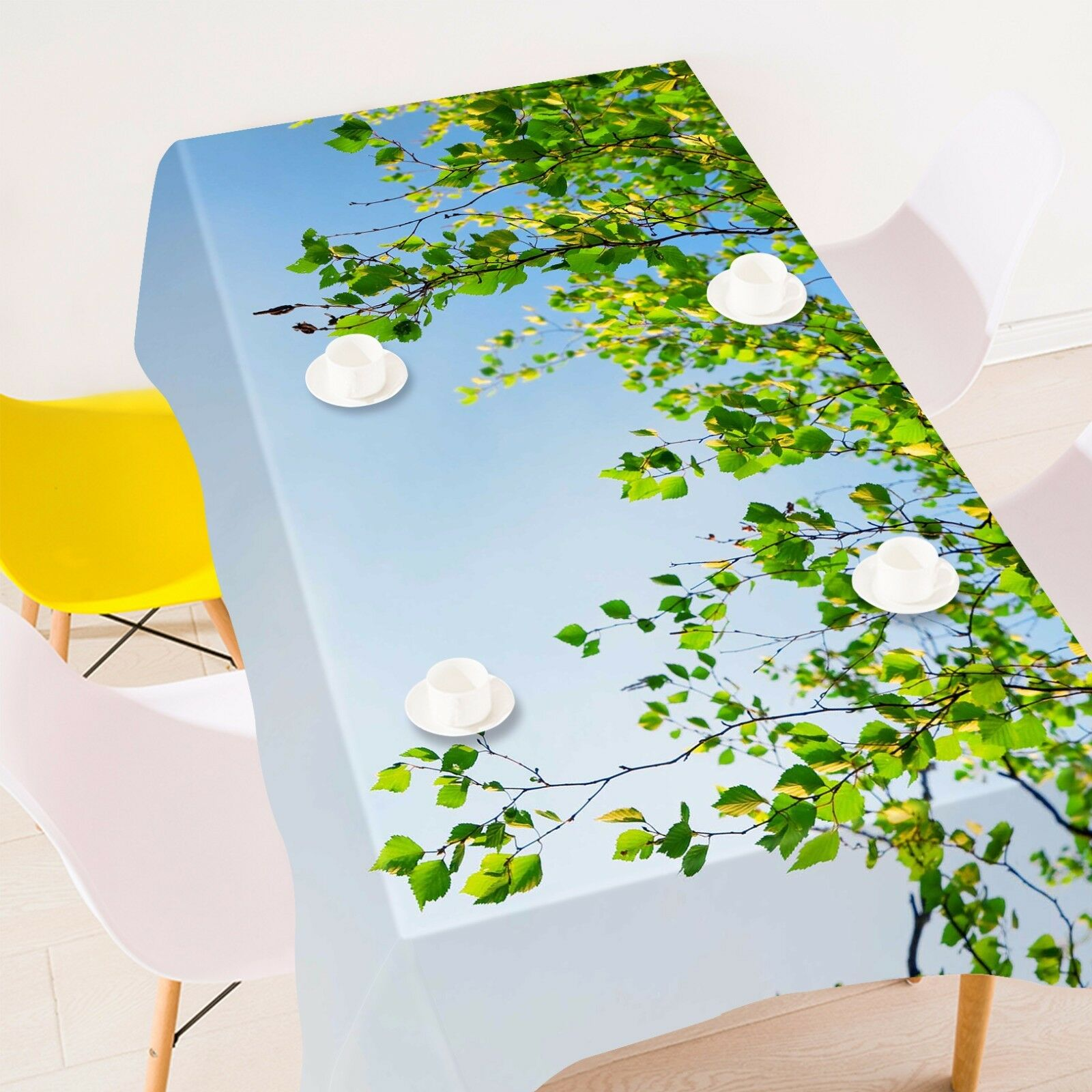 3D  Leaf 4003 Tablecloth Table Cover Cloth Birthday Party Event AJ WALLPAPER AU