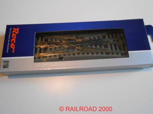 NUOVO ROCO 61164 GEOLINE incrocio doppio DKW morbido 22,5 ° OVP