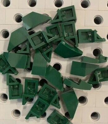 1 left Stud Notch rouge//red 29119 29120 NEUF Lego Wedge Aile 2x1 slope 1 right