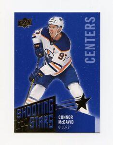 18/19 UPPER DECK SHOOTING STARS BLUE #SSC-1 CONNOR MCDAVID OILERS *59161