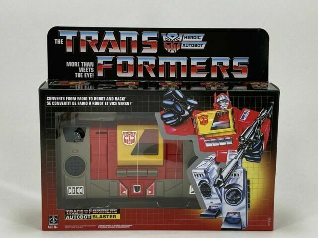 Hasbro Transformers G1 Autobot Blaster Action Figure
