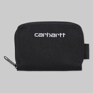 Carhartt-Payton-Midi-Wallet-Black-White-CORDURA-Geldboerse-I026182-Neu