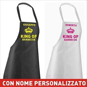 Grembiule barbecue cucina personalizzato simpatica idea regalo ebay - Grembiule cucina personalizzato ...