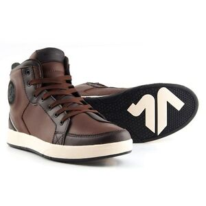 Paire-chaussure-basket-motorrad-V-039-QUATTRO-TWIN-BROWN-TAILLE-47