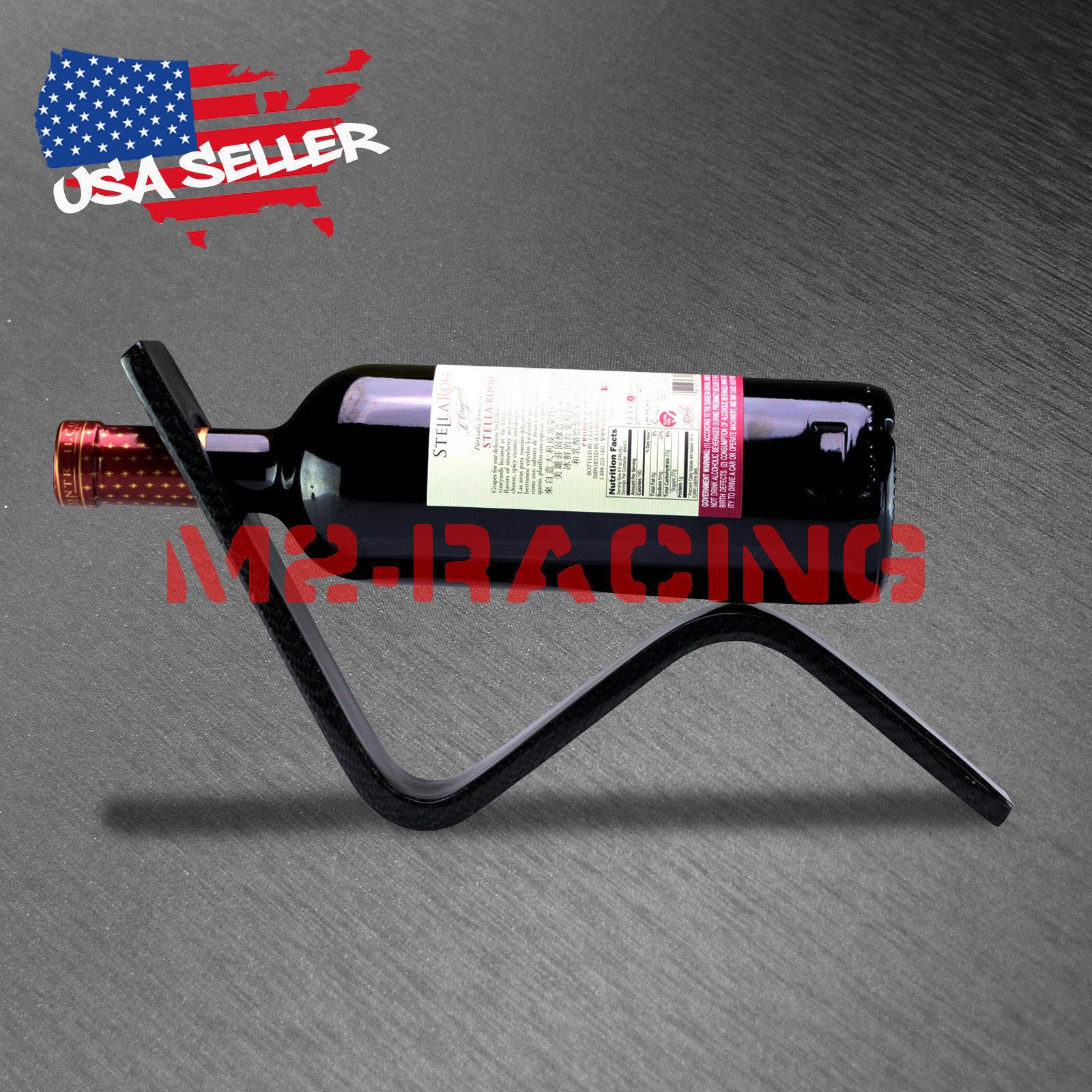 100/% Real 3K High Quality Carbon Fiber Wine Bottle Champagne Holder Dispaly Rack