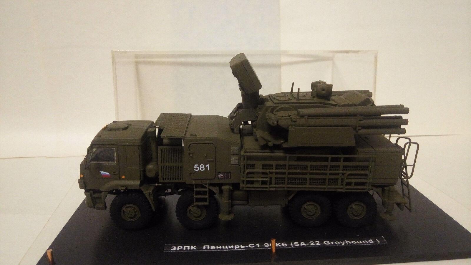 PANTSIR-C1 96K6 (SA-22 Greyhound ) système mobile de défense antiaérien(1/72)
