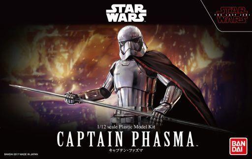 Bandai stjärnornas krig kapten Phasma Den sista Jedi 1  12 skala Kit japan
