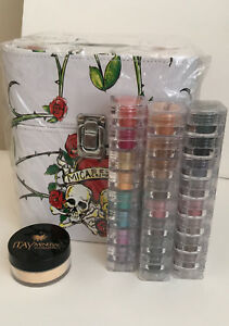 Micabella-Vanity-Case-Itay-Mineral-3x8-stacks-Shimmer-Itay-Foundation-MF-12
